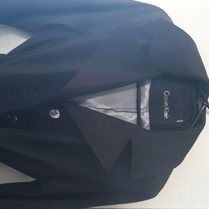 Calvin Klein black hooded Jacket